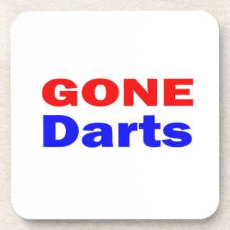 Gone Darts. Drink Coasters