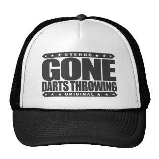GONE DARTS THROWING - Blindfolded Bullseye Thrower Trucker Hat