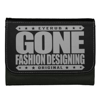 GONE FASHION DESIGNING - A Trendsetter Fashionista Leather Wallet For Women
