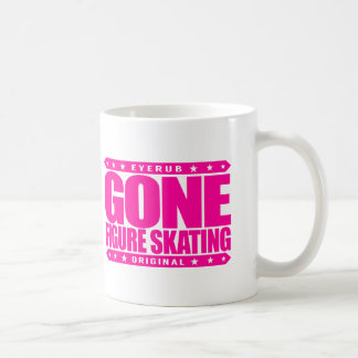 GONE FIGURE SKATING - A Blade Slinging Pimp on Ice Coffee Mug