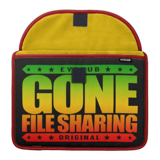 GONE FILE SHARING - I Share My Large Files Legally Sleeve For MacBook Pro