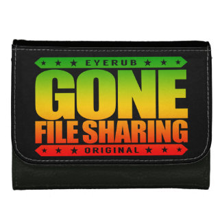 GONE FILE SHARING - I Share My Large Files Legally Wallets For Women