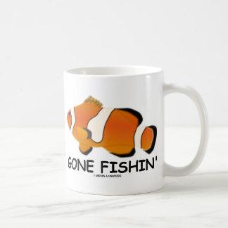 Gone Fishin' (Amphiprion percula - Clownfish) Classic White Coffee Mug