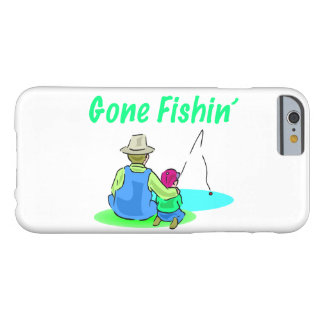 Gone Fishin' Barely There iPhone 6 Case