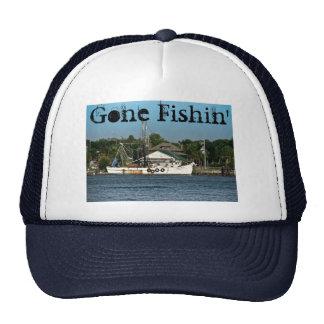 Gone Fishin' Cap Trucker Hat