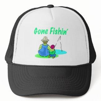 Gone Fishin' Hat hat