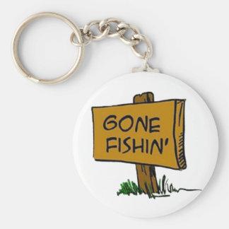 Gone Fishin' Keychain (in 3 styles)