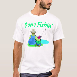 Gone Fishin' Men's T-Shirt
