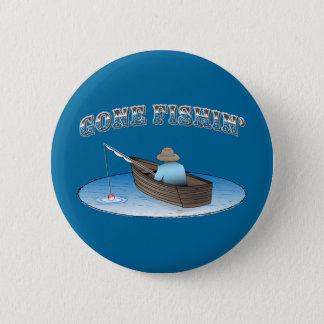 Gone Fishin' Pinback Button