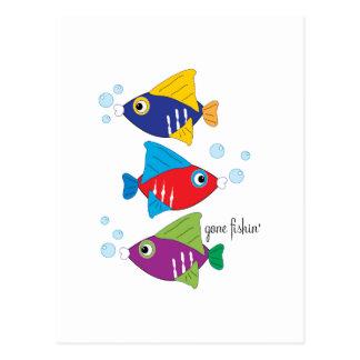 Gone Fishin' Postcards