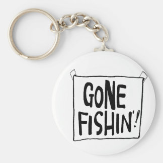 Gone Fishin' T-shirts and Gifts. Key Chains