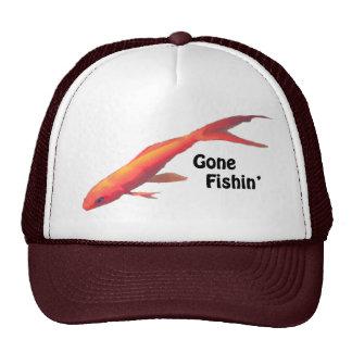 Gone Fishin' Trucker Hat