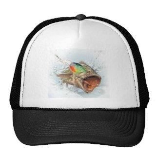 gone fishin trucker hat