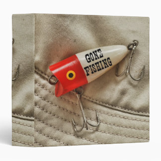 "Gone Fishing 1.5"" Photo Album 3 Ring Binder"