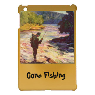 Gone fishing, At the bend in the river iPad Mini Case