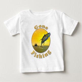 Gone Fishing Baby T-Shirt