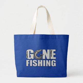 GONE FISHING bag - choose style & color