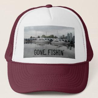 Gone Fishing Boats Trucker Hat