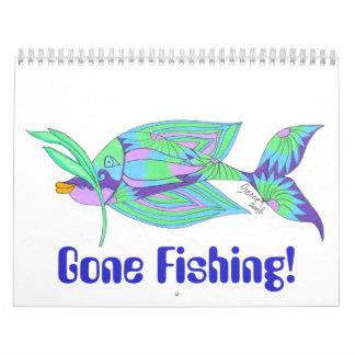 Gone Fishing! Calendar