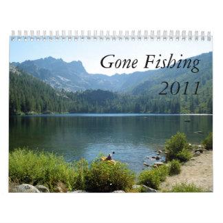 Gone Fishing Calendar