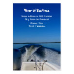 Gone Fishing Calendar Business Card
