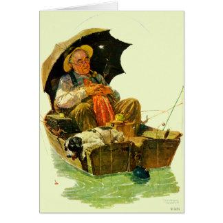Gone Fishing Card