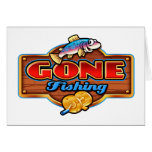 GONE FISHING CARDS