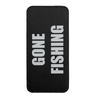 Gone Fishing iPhone 5 Pouch