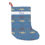 Gone Fishing  Christmas Stocking