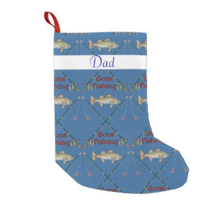gone fishing christmas stocking