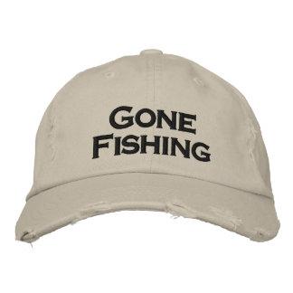 Gone fishing cool hat