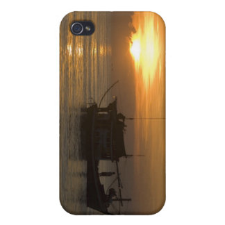 Gone Fishing Cover For iPhone 4
