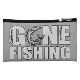 GONE FISHING custom accessory bags