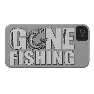 GONE FISHING custom iPhone case-mate iPhone 4 Cover