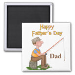 Gone Fishing Father's Day Magnets