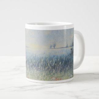 Gone Fishing Giant Coffee Mug