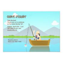 Gone Fishing Invitation