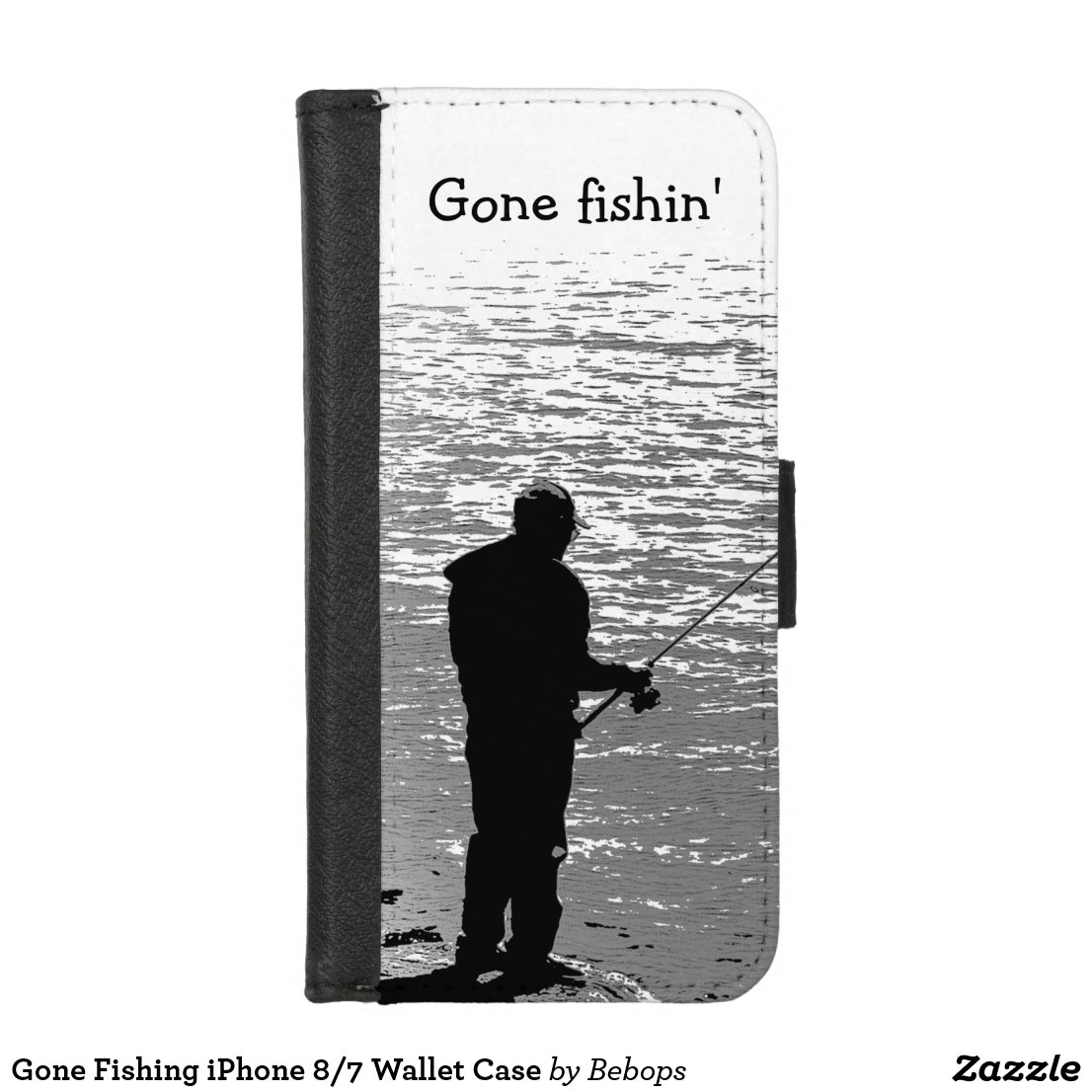 Gone Fishing iPhone 8/7 Wallet Case