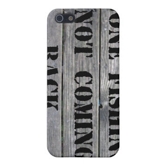 Gone Fishing Case For iPhone 5