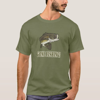 Gone Fishing: Largemouth Bass T-Shirt