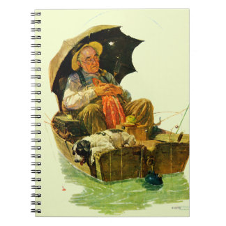 Gone Fishing Notebook