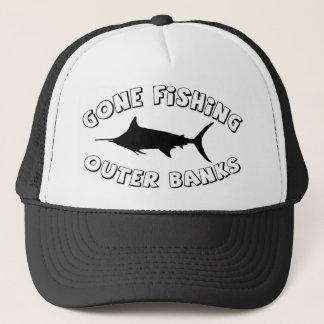 Gone Fishing. OBX Trucker Hat