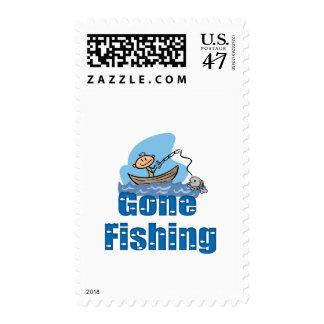 Gone Fishing Postage