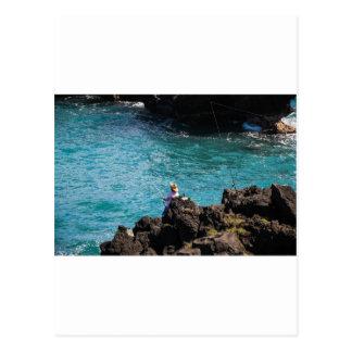 Gone Fishing Postcard