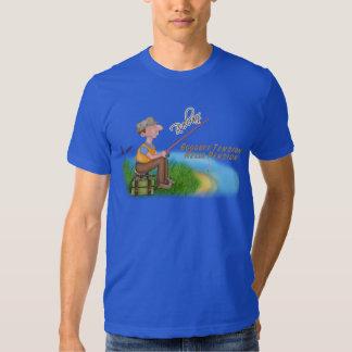 Gone Fishing Retirement T Shirt