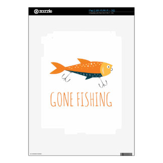 Gone Fishing Skin For The iPad 2