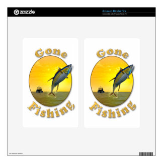 Gone Fishing Skin For Kindle Fire