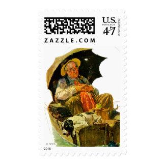 Gone Fishing Stamp
