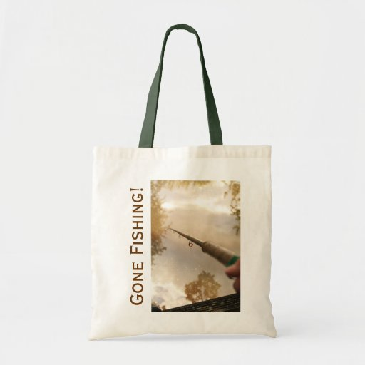 Gone Fishing Tote Bags