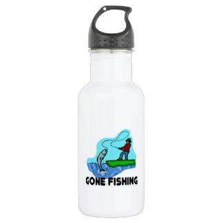 Gone Fishing Water Bottle